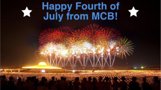 Happy Fourth of July from MCB!
