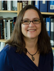 Head shot of Dr. Catherine Drennan, recipient of the Dorothy Crowfoot Hodgkin Award from The Protein Society, 2020.